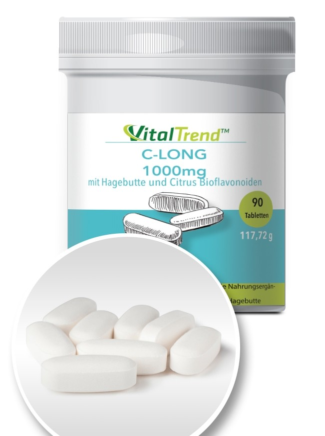 Vitamin-C 1000 mg Tabletten